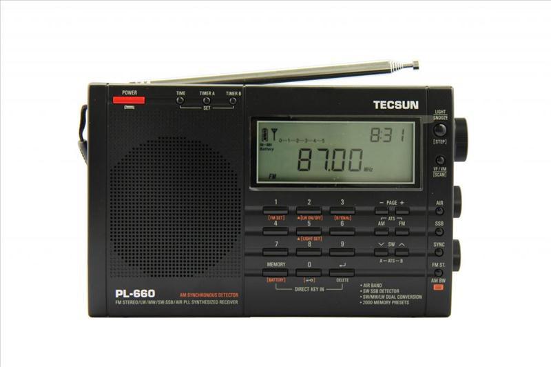 Радіоприймач TECSUN PL-660