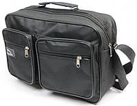 Вместительная мужская сумка Wallaby 2621 черный, фото 1
