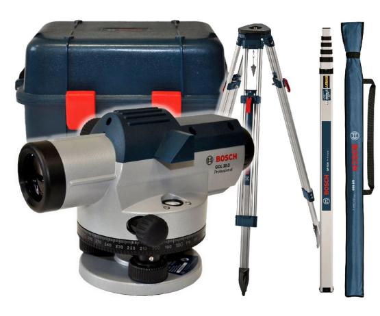 Оптический нивелир GOL 20 D BOSCH Professional.