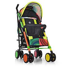 Прогулочная коляска-трость El Camino ME 1035 COLORITO, разноцветная