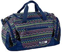 Женская спортивная сумка Paso 27L, 18-019PC синяя, фото 1