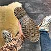 "Женские ботинки Dr.Martens Jadone Snake ""White/Black"", фото 4"