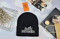 Модная женская шапка в стиле HERMES