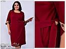 Женское осенне платье Линия 52-62 размер №7551, фото 2