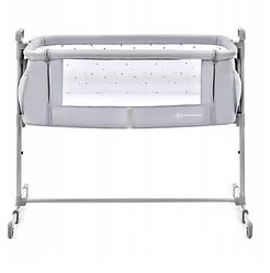 Детская кроватка Kinderkraft NESTE (светло-серый цвет)