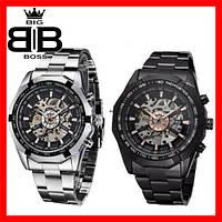 Часы механические мужские  Winner Skeleton на баслете + Подарок