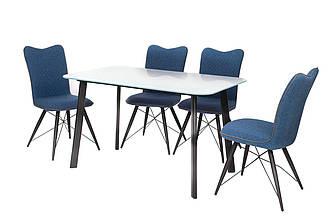 Обеденный стол Т-312 белый 130*80*75(H)