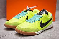 Кроссовки мужские Nike Tiempo, салатовые (13954) размеры в наличии ► [  37 38  ], фото 1
