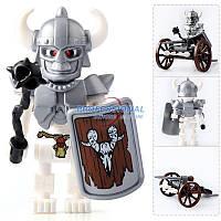 Детский тематический конструктор BRICK 1503-A(8 видов) | конструктор для детей | мини фигурка Scull Soldier