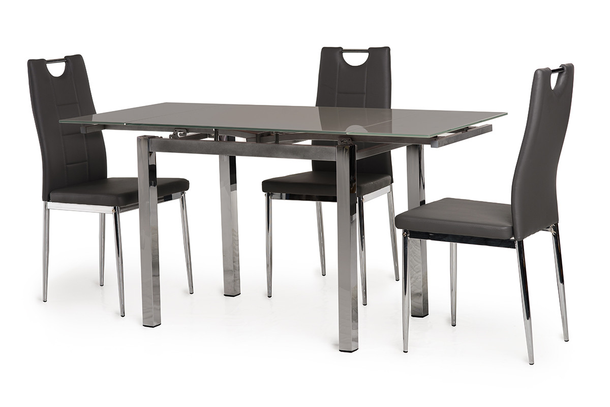 Обеденный стол T-231-8 серый