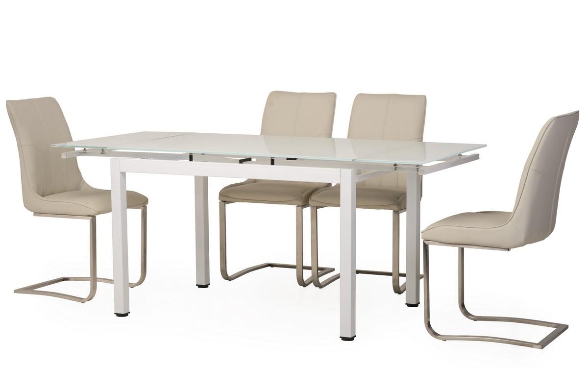 Обеденный стол T-231-3 снежно-белый