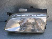 Оригинальная левая фара Valeo 086379 б/у на Citroen Berlingo после 1996 года