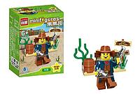 Детский тематический конструктор BRICK 1503-B(8 видов) | конструктор для детей | мини фигурка Cowboy