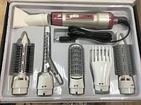 Воздушный стайлер для волос 7 в 1 Gemei GM-4836, мультистайлер.