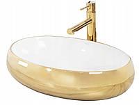 Золотая раковина Rea MELANIA GOLD 60 см, фото 1