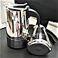 Гейзерная кофеварка из нержавеющей стали (индукция) - 4 чашки Benson BN-152, фото 4
