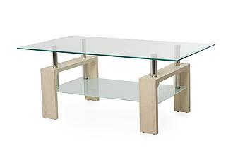 Журнальный стол C-107-2 белый дуб