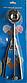 Ложка для мороженого шариками механическая Benson BN-169 (5 см) из нержавеющей стали, фото 9