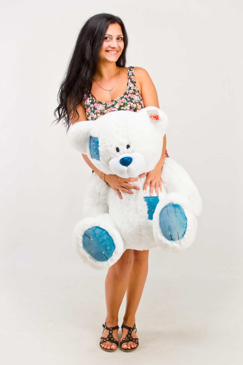 Плюшевий ведмедик Гріша 100 см білий