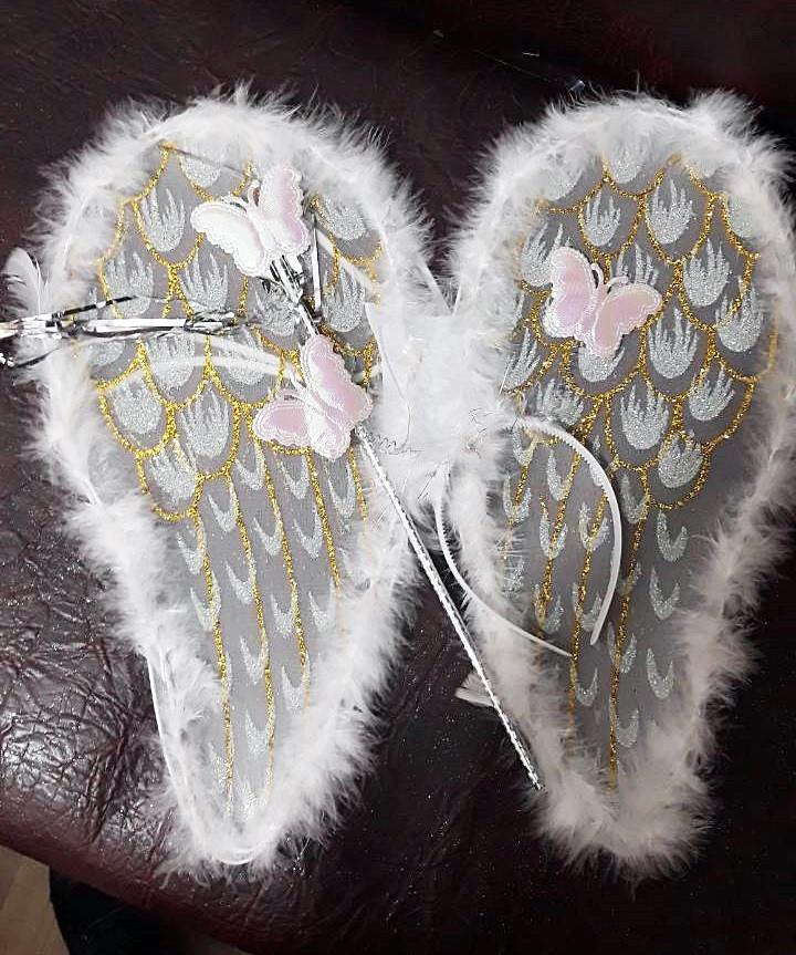 Карнавальный набор обруч с бабочками, крылья