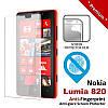 Защитная пленка для Nokia Lumia 820, New Top, глянцевая /накладка/наклейка /нокиа