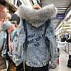 """Куртка джинсовая женская зимняя """"Fashion Jeans"""", фото 5"""
