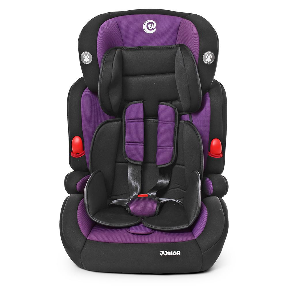 Автокресло с бустером El Camino ME 1008 Junior Purple 1-2-3 (9-36кг)