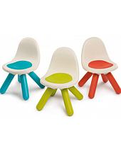 Дитячий стілець зелений з спинкою Smoby
