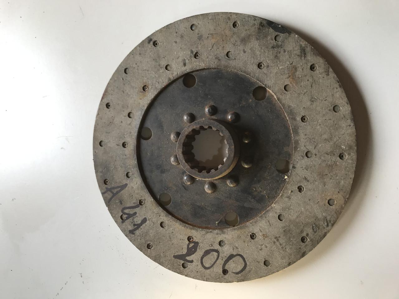 Диск зчеплення ведений ДТ-75 жорсткий (ДВ А-41) 01-21 С6