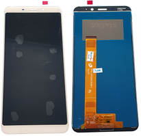 Дисплей для Meizu M6S, M712H с сенсорным экраном, белый