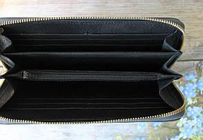 "Женский кожаный кошелек ""Grizzly"" серый, фото 2"