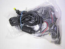 Штекер 5,5/1,7 (19V/3.16A) черн. сетевой с кабелем для монтажа Quer