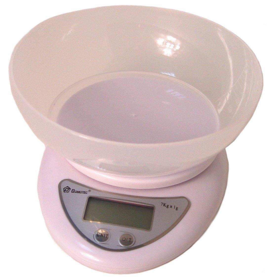 Кухонные весы Domotec ACS-126 c чашей