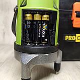 Лазерный уровень Нивелир ProCraft LE-5D (зеленый луч), фото 9