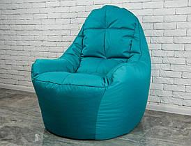 Бескаркасное Кресло мешок груша диван мятного цвета BOSS (XL)