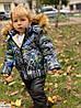 Куртка детская зимняя на мальчика (98-122 см) DA-6376