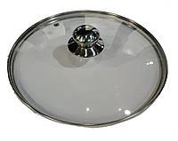 Крышка из закаленного стекла Benson BN-1007 (28 см) | стеклянная крышка на кастрюлю Бенсон | крышка стекло