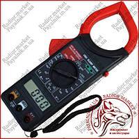 Клещи токоизмерительные Digital DT-266C, токовые клещи с термопарой (Оригинал)