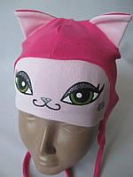 Купить для девочек красивые шапочки.