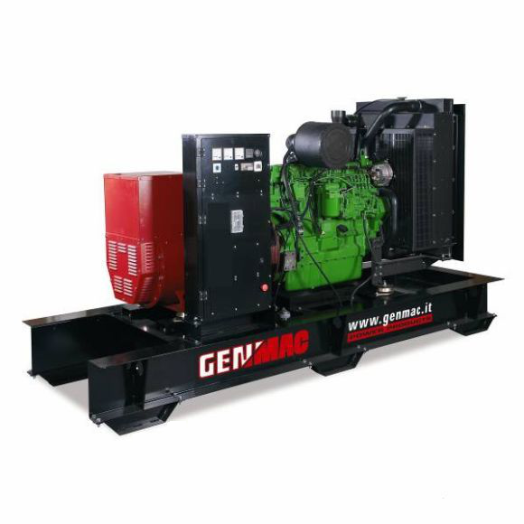 Трехфазный дизельный генератор Genmac Majestic G500COA (550 кВа)