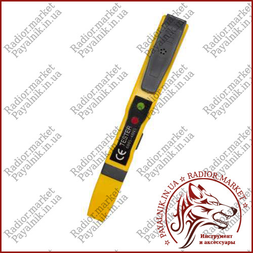 Тестер напряжения индукционный контактный, индикатор напряжения VD06 (70-1000V AC)