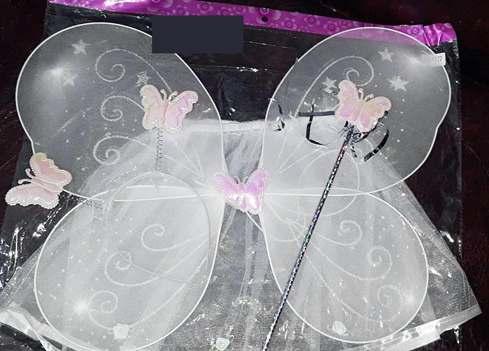 """Детский карнавальный набор """"Бабочка"""" юбка,крылья,обруч"""