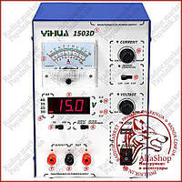 Лабораторний блок живлення YIHUA 1503D, 15B, 3A 12-1406