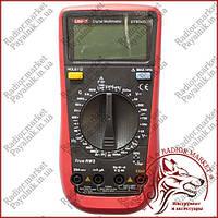 Мультиметр цифровой UNI-T UT-890D, тестер юнит, вольтметр, измеритель емкости конденсаторов