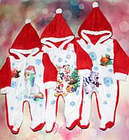 Комбинезон детский Новогодняя сказка махра
