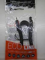 Аудио кабель Cabletech Eco-Line mini jack 3.5мм 1.8м Польша (KPO4006-1.8) (aux audio cable)