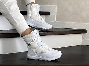 Высокие женские зимние ботинки Reebok, белый, фото 2