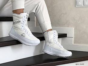 Высокие женские зимние ботинки Reebok, белый, фото 3