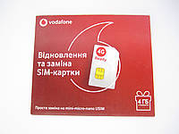 Стартовый пакет Vodafone Восстановление и Замена SIM