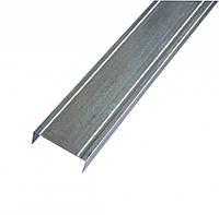 Профиль металический для гипсокартона UW 75 Киев (3 м х 0,4 мм)